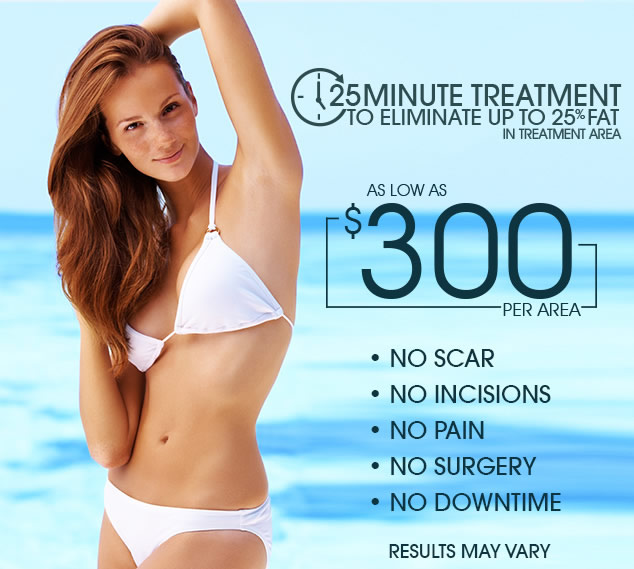 SculpSure 25 Minute Treatment to Eliminate Up To 25% Fat
